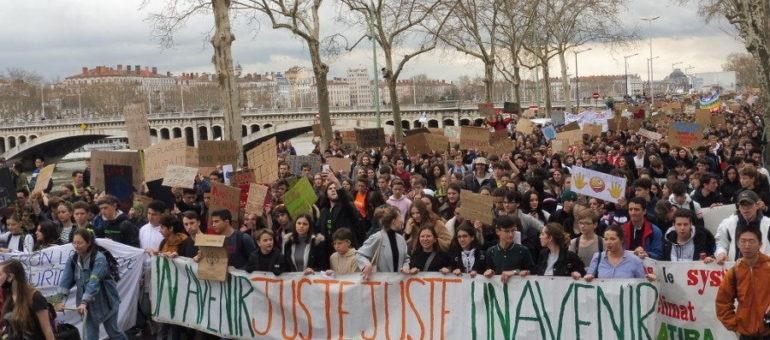 Une fin semaine très écolo : Grève et Marche pour le climat à Lyon