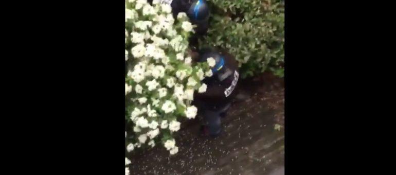 «Gilets jaunes» à Lyon: les vidéos des coups de matraque de la BAC dans une résidence privée