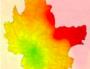 Nombre de jour de dépassement en Ozone (O3) en 2018, selon ATMO Auvergne-Rhône-Alpes
