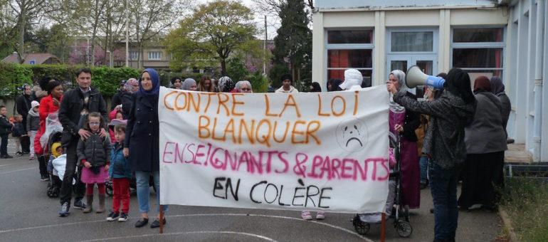 Opération «école morte» à Lyon Mermoz: «la loi Blanquer va renforcer les inégalités entre nos enfants»
