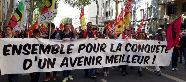 1er mai à Lyon : une convergence des gilets jaunes, rouges et verts ?