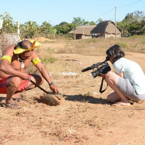 Retour de mission - à la rencontre des indiens de kayapo