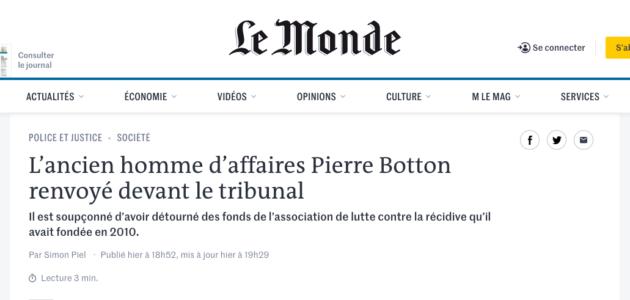 Case justice : Pierre Botton, on prend le même et on recommence ?