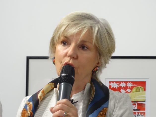 Véronique Trillet-Lenoir, candidate de la liste Renaissance aux élections européennes 2019 / crédits : Oriane Mollaret