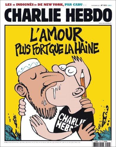 Dessin de presse de Luz pour Charlie Hebdo.