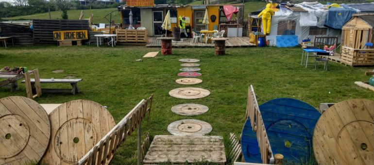[Vidéo] Près de Lyon, un camp de «Gaulois réfractaires» créé par des «gilets jaunes»