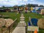 Les gilets jaunes du Rondpoint d'Estrablin (38 780) ont créé un véritable camp.