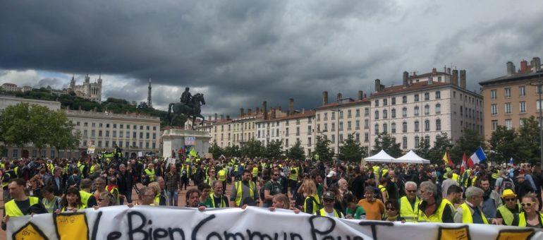 A Lyon, une manifestation Gilets jaunes, Black lives matter et antifas ce samedi
