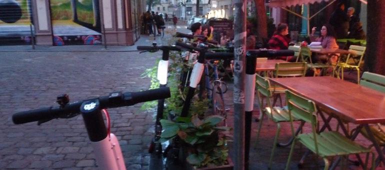 Trottinettes, vélos et scooters en free floating à Lyon: des redevances «incohérentes»?