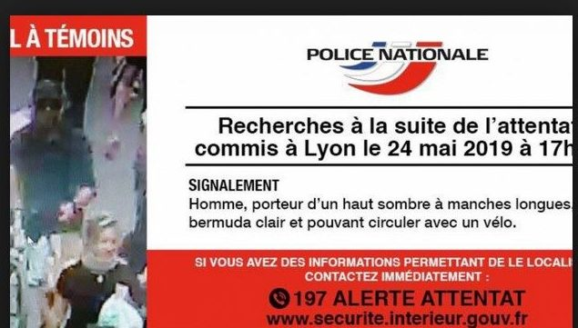 Appel à témoin diffusé par la police nationale.