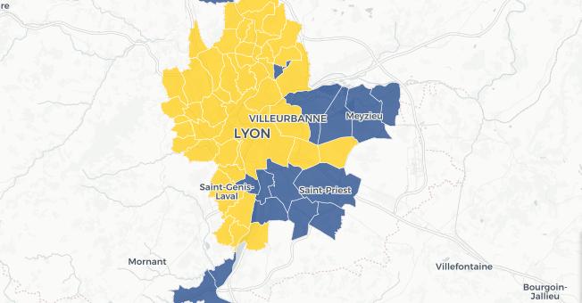 [Carte et résultats] Comment la Métropole de Lyon a voté à l'élection européenne