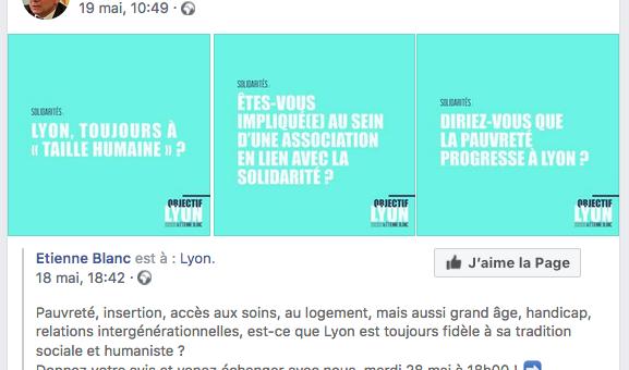 Un ancien directeur du Progrès cherche des sous pour le candidat de la droite à Lyon