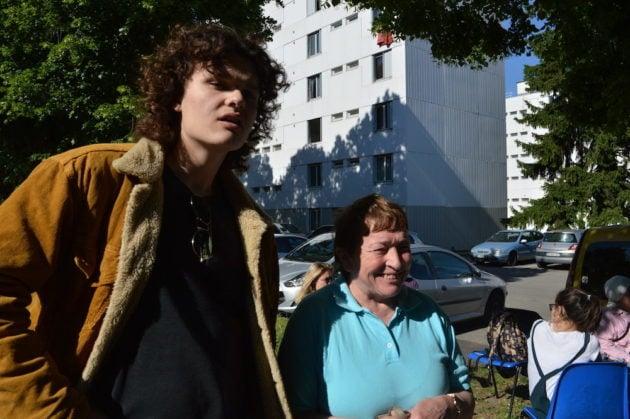 Simone Petit, habitante du quartier du Vergoin depuis 1987