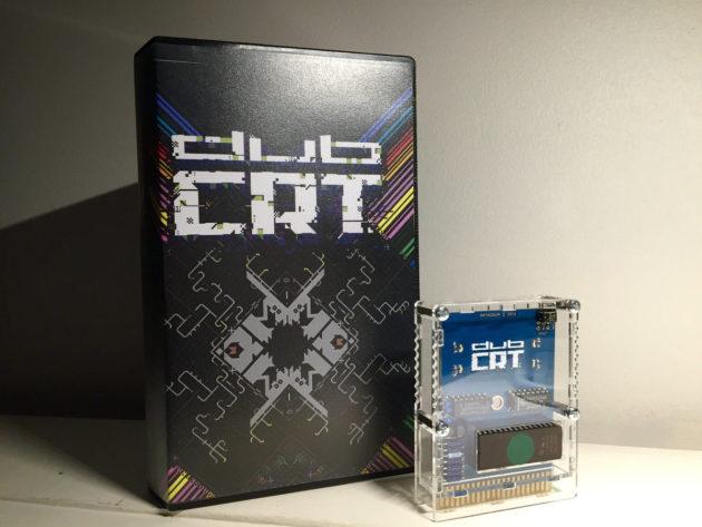 Cartouche de jeu vidéo pour C64 – ordinateur des années 1980 – publiée par le label Datadoor en 2017.