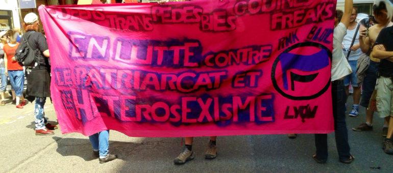 Le Pink Bloc à Lyon : la version féministe et queer du Black Bloc cherche sa voie