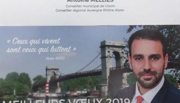 Antoine Mellies, l'étoile montante du Rassemblement National lyonnais, à la tête du parti dans le Rhône
