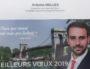 Sur l'invitation à ses vœux 2019, aucune mention de l'appartenance d'Antoine Melliès au Rassemblement national. Une critique qui s'applique également aux vœux de la maire de Givors Christiane Charnay (PCF) ou à ceux du président de Région Laurent Wauquiez (LR), fait valoir l'intéressé.