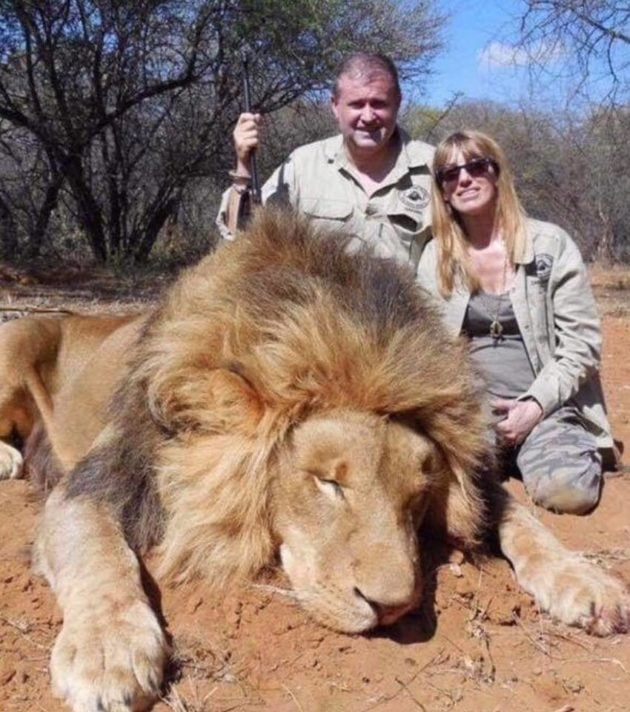 Alboud en chasse-safari. Image tirée des réseaux sociaux de la famille.
