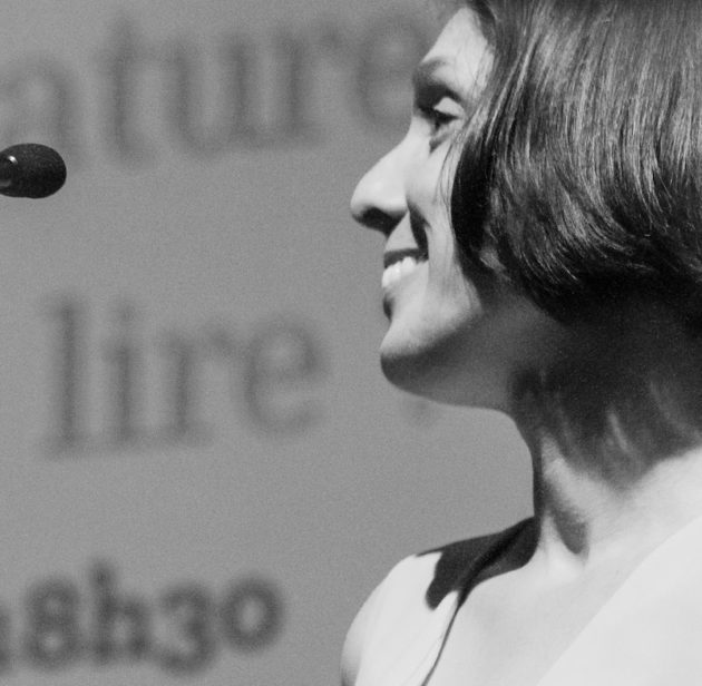 Audrey Burki, responsable Littérature à la Bibliothèque municipale de Lyon. ©Alizé Buisse