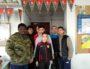 Les jeunes licenciés de l'AS Duchère qui ont créé l'hymne officiel du club