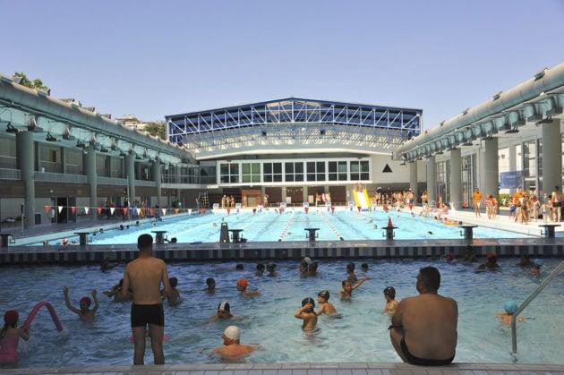 Centre nautique André Sousi à Villeurbanne - le 7 juillet 2017. © Dominique Perron