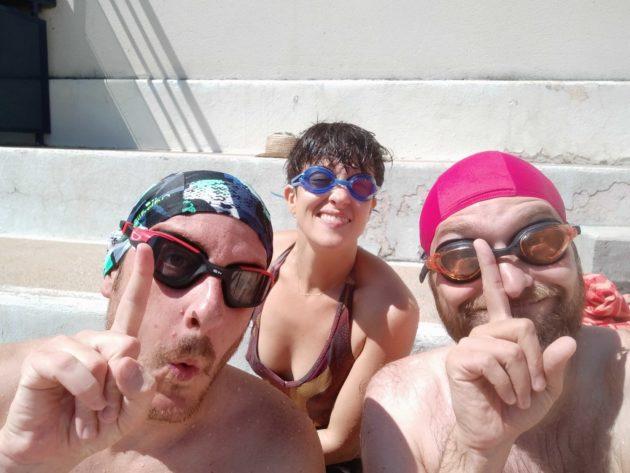 Chaque année, la rédac fait son séminaire d'été en démarrant par quelques longueurs dans une piscine de l'agglo de Lyon. On espère que vous savez nager.