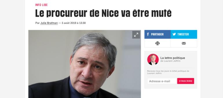Le procureur qui ne voulait pas mettre Macron dans l'embarras, muté à Lyon ?