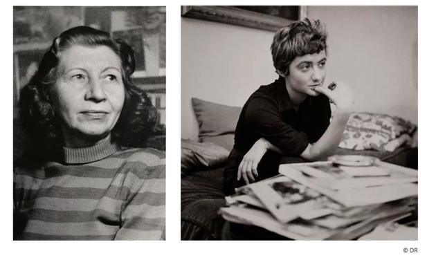Les Grands entretiens Violette Leduc & Françoise Sagan. DR