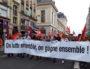 Banderole de tête de la manifestation lyonnaise contre la réforme des retraites le 24 septembre 2019. ©LB/Rue89Lyon