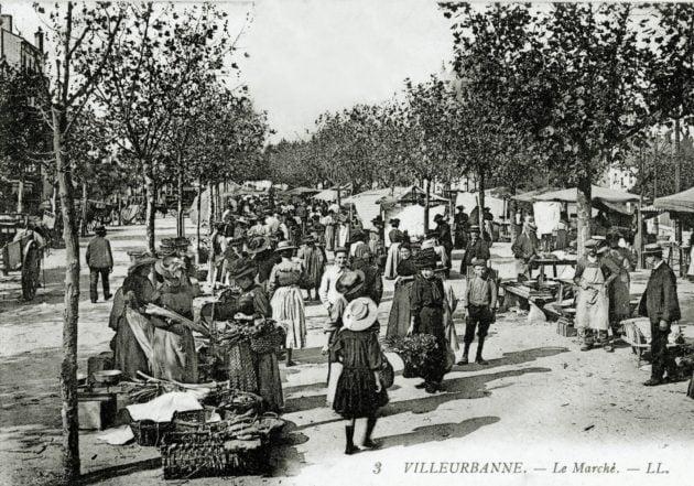 Marché Villeurbanne