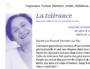 Conférence sur la tolérance au festival (Re)faire société : mode d'emploi