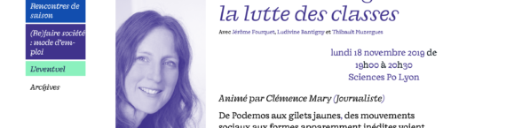 Conférence au festival (Re)faire société à Lyon