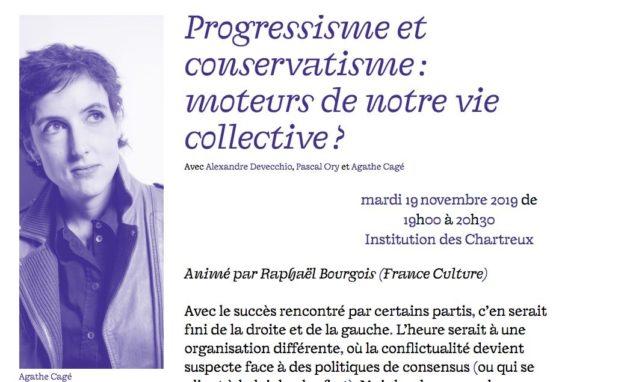 """Agathe Cagé au festival """"(Re)faire société : mode d'emploi"""" à Lyon"""