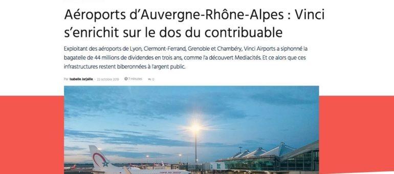 Vinci laisse 200 euros dans les caisses de l'aéroport de Grenoble
