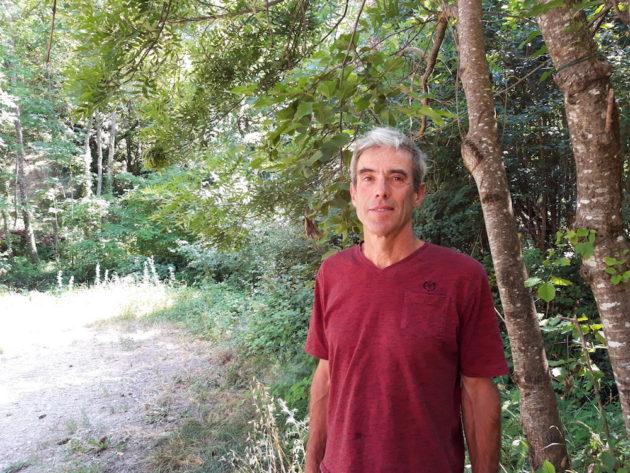Vincent Lefort, viticulteur de Côté Cairn et ancien vice-président de la cave coopérative. ©LB/Rue89Lyon