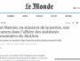 Michel Mercier mis en examen sur le site du journal Le Monde