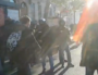 Arthur, victimes de violences policières à Lyon le 10 décembre 2019. Capture d'écran d'une vidéo amateure. ©Rue89Lyon