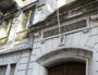 L'entrée du lycée Ampère-Saxe, avenue de Saxe a lieu, bloqué ce jeudi et ce vendredi matin. ©ED/Rue89Lyon