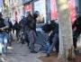 Arthur Naciri passé à tabac par la police le mardi 10 décembre place Bellecour. ©B.Doudaine