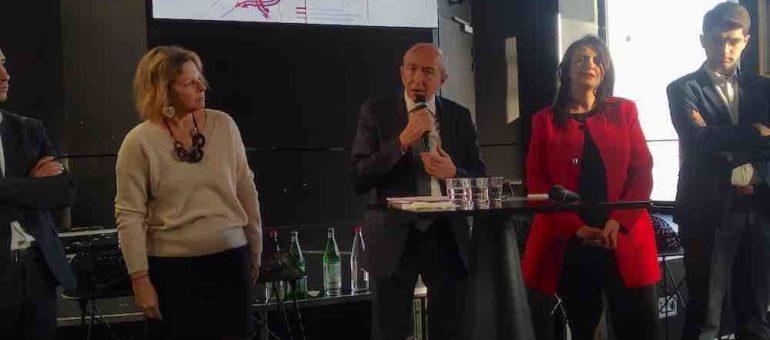 Gérard Collomb défend l'Anneau des sciences sur le mode «c'est ça ou la mort de Lyon»