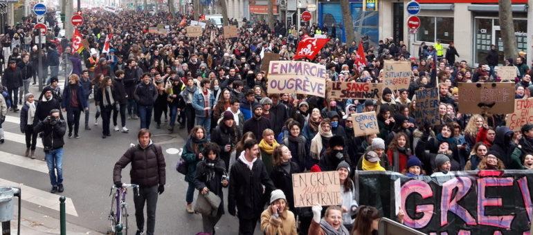 A Lyon, grosse manif contre le projet de réforme des retraites