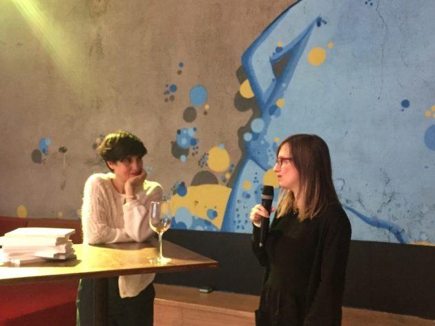 """Pendant la soirée de remise du prix du concours """"Lyon, des nouvelles de 2050"""". ©Rue89Lyon"""