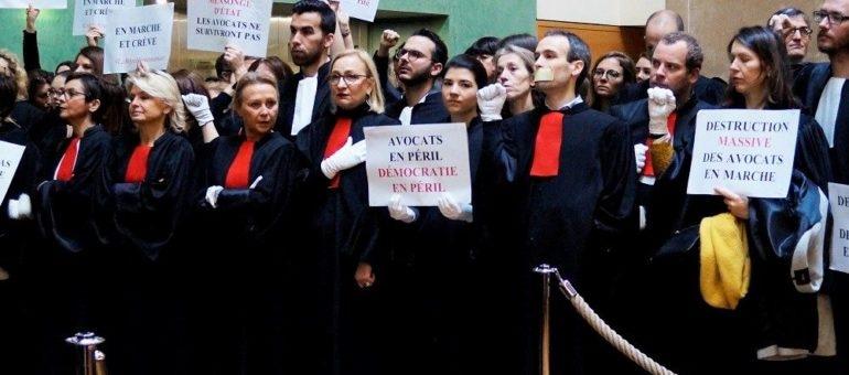 A Lyon, une «grève totale» inédite des avocats contre la réforme des retraites