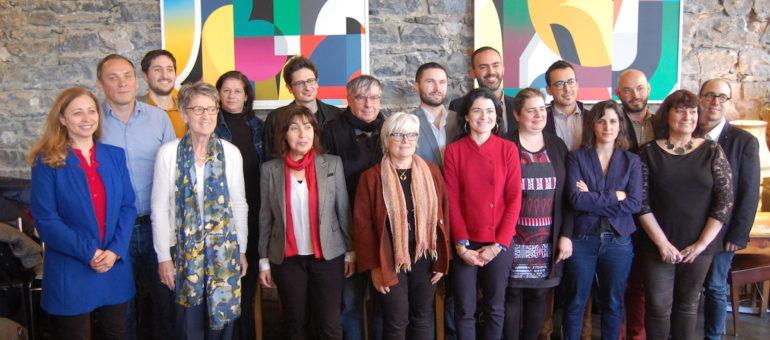 Élections 2020 : Nathalie Perrin-Gilbert et ses têtes de listes voudraient représenter la gauche à Lyon