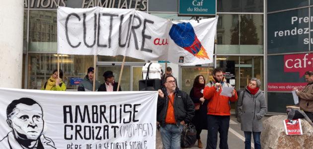 Réforme des retraites : à Lyon, la culture s'énerve