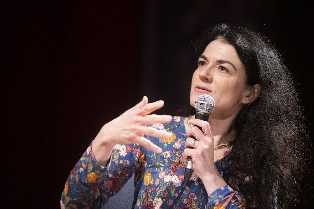 Nathalie Perrin-Gilbert lors du débat culture le mardi 18 février 2020. ©Houcine Haddouche