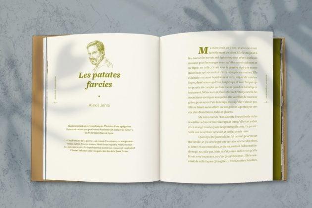 Extrait du texte d'Alexis Jenni, Les patates farcies