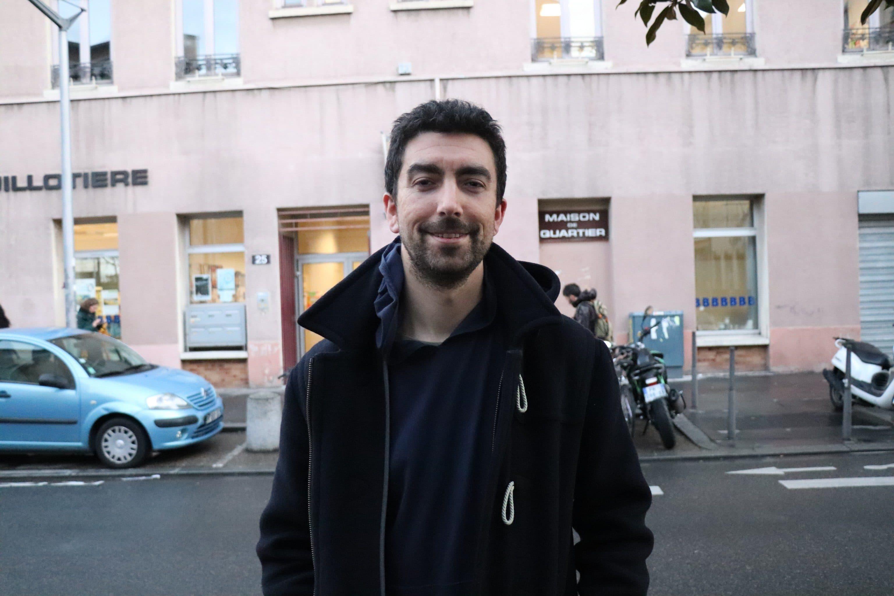 Photo de du candidat à la circonscription Lyon Est, Benjamin Badouard
