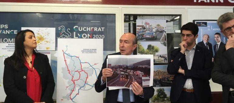 Métropole de Lyon 2020 : en parlant des mobilités, Gérard Collomb se crispe