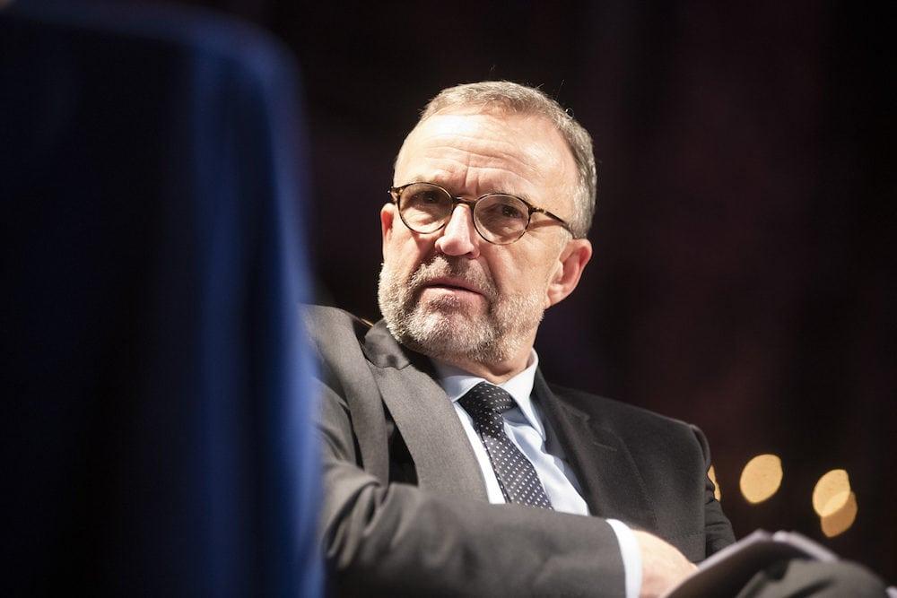 Etienne Blanc lors du débat culture le mardi 18 février 2020. ©Houcine Haddouche